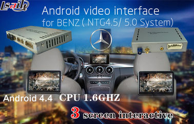 Cina 800X480 Car Multimedia Navigation System for Benz A/B/C/E , Android Auto Interface pemasok