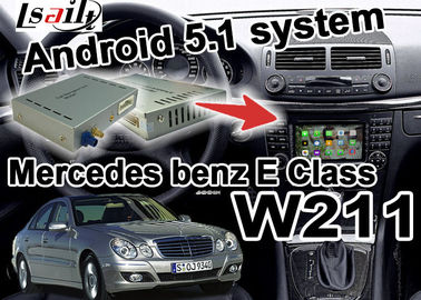 Cina Mercedes benz W203 C kelas Navigasi video Antarmuka Kotak wifi 3D navi youtube pemasok