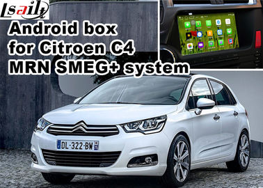 Cina Sistem Citroen C4 C5 C3 - XR SMEG + MRN Navigasi mobil box mirrorlink video play pemasok