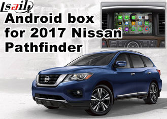 Cina Nissan Pathfinder Andorid Car Sistem Navigasi Multimedia, Online Navigation Video Play pemasok