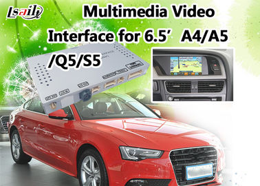 Cina Antarmuka Multimedia Audi Mendukung Kamera Rear View, DVD, TV, DVR, Mirrorlink Opsional pemasok