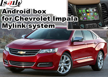 Cina Chevrolet Impala Android Navigation Box, Mirror Wifi Link real time Navigation pemasok