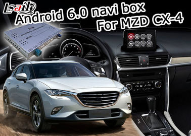 Cina Mazda CX-4 Multimedia video interface Android 6.0 dengan kontrol knob asal Mazda pemasok