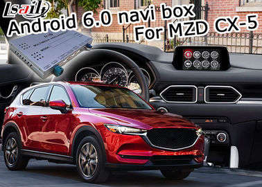 Cina Mazda CX-5 video interface Android Box Gps dengan kontrol knob asal Mazda pemasok