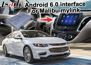 Cina Chevrolet Malibu (CUE) cermin mobil Link android Video Interface kotak WIFI layar cor pemasok