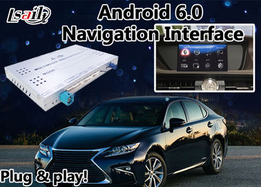 Cina ES 2012-2017 Lexus Video Interface Mouse Version, GPS Navi Android 6.0 Kotak Navigasi pemasok