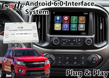 Cina Android 6.0 Multimedia Video Interface untuk Chevrolet Colorado / Impala MyLink System 2015-2018, Navigasi GPS pemasok