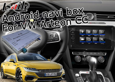 Volkswagen Arteon Car Video Interface Android GPS Navigation Voice Activate With Plug / Play