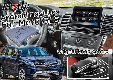 Mercedes Benz GLS Android Navigation Box , Youtube Navigation Video Interface optional carplay
