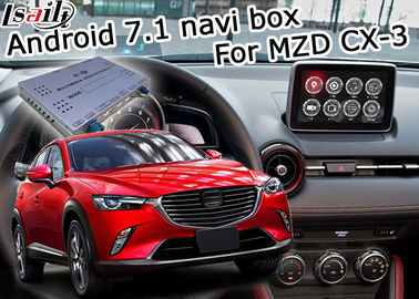 Cina Antarmuka video navigasi Mazda CX-3 Android 7.1 Kontrol tombol Mazda google waze youtube pemasok