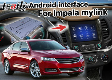 Chevrolet Impala Android Navigation Box, Mirror Wifi Link real time Navigation