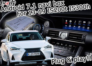 Cina GPS Android navigation box Lexus IS200t IS300h tombol kontrol mouse waze youtube Google play pemasok