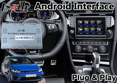 Android 9.0 Video Interface for Volkswagen Golf 7 / Seat Leon / tiguan / polo , GPS Navigation for 2014-2017 Year mib2