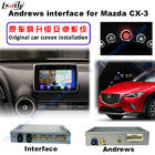 Cina 2016 Mazda Navigasi Video Interface CX -3 TV DVD BELAKANG DVR pabrik
