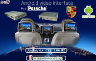 Cina Multimedia Android Auto Interface for Porsche PCM 4.0 , support Headrest Monitor display pabrik