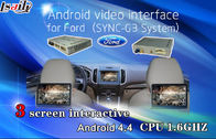 Cina Navigation Android Auto Interface / Rear car video interface for Ford , 800*480 resolution pabrik