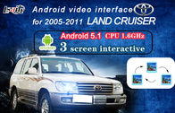 Cina Land Cruiser Android Auto Interface, Interface Video Navigasi dengan Dynamic Parking Guide Line pabrik
