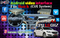 Cina Buick Android Auto Interface / Instagram Linked Di Twitter Navigation Video Interface pabrik