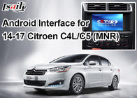 Cina Android Navigasi Video Interface untuk Citroen, Google Market / Google Map / WiFi / 3G pabrik