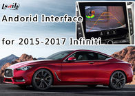 Cina 2015-2017 Infiniti Android Auto Interface + Android Navigation Box dengan Built-in Mirrorlink, Built-in WIFI pabrik