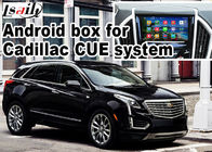Cina GPS Android navigation box video interface untuk video Cadillac XT5 pabrik