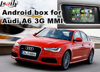Cina Audi A6 S6 Video interface Mirror Link Rearview Gps Navigasi Mobil Perangkat Quad Core 1.6 Ghz Cpu pabrik