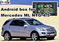 Cina Android os navigasi mobil kotak video antarmuka untuk Mercedes benz ML mirrorlink web video music play pabrik