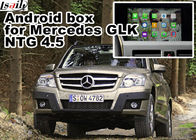 Cina GHz 1.6 core quad gps benz GLK gps navigator android mirrorlink rearview video play pabrik