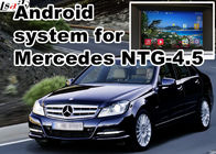Cina Mercedes benz kelas C GPS Auto Navigation Systems mirror link 480 * 800 Android 4.4 pabrik