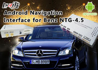 Cina Mercedes-Benz E Class NTG 4.5 Navigasi GPS Android Auto Interface Box Mendukung WiFi Bt Mirrorlink pabrik