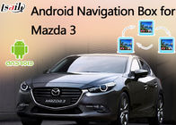 Cina 2014-2017 Mazda 3 Android 6.0 Video Interface Support Rearview System, Navigasi GPS pabrik