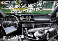 Cina GPS Android navigation box Lexus IS200t IS300h tombol kontrol mouse waze youtube Google play pabrik