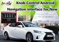 Cina High Speed ​​Android 6.0 Video Interface Lexus untuk IS, Antarmuka Kamera Cadangan pabrik