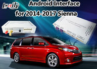 Cina Android 4-Core 5.1 Android Auto Interface + Kotak Navigasi Android untuk dukungan Sienna Toyota Apps Download pabrik