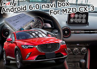Mazda CX-3 Navigasi antarmuka video Android 6.0 Mazda kenop kontrol google waze youtube
