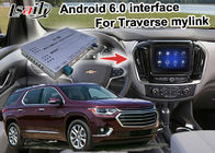 GPS Car Navigation Box video interface untuk Chevrolet Traverse Mirror Link Navigation