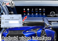 Cina 16GB EMMC Car Video Interface Untuk Lexus 2017, Mobil Multimedia Interface T3 CPU pabrik