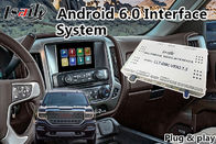 Android 6.0 Multimedia Video Interface untuk GMC Sierra 2014-2018 Waze Mirrorlink Google
