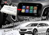 Android 6.0 GPS Navigation Box Video Interface untuk Buick Regal LaCCrosse Verano dengan Netwok Yandex live Navigation