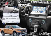Cina Android 6.0 Auto Interface Gps Navigasi untuk Ford Ranger / Everest SYNC 3 Sistem LVDS Tampilan Digital Bluetooth OBD pabrik