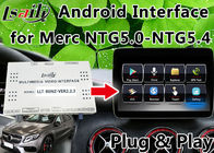 Sistem Navigasi Android 6.0 Mercedes Benz, Dukungan Antarmuka Video Mobil Google Play