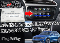 Integrasi Yandex Multimedia Android Video Interface T3 Quad - Core Processor Untuk VW MIB