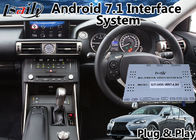 Cina Android 7.1 GPS Navigation Interface Box untuk 2013-2016 Lexus IS 200t Mouse Control pabrik