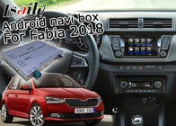 Skoda Fabia Android Navigation Box Dengan 9.2 Inches Tampilan Belakang WiFi Video Cast Screen