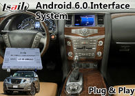 Android 6.0 Video Interface GPS Navigasi untuk 2012-2017 Nissan Patrol