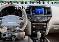 Android 6.0 GPS Interface Multimedia Navigasi untuk 2014-2018 Nissan Pathfinder
