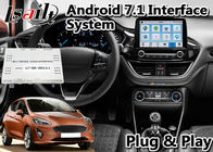 Lsailt Android 9.0 Navigasi Antarmuka Video T7 Hexa Core Processor Untuk Ford Fiesta Sync3