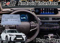 Lsailt Android 9.0 GPS Navigasi Lexus Video Interface Untuk UX250 Touchpad Control GPS 2018-2020 UX 250