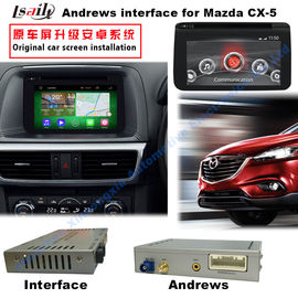 Cina Android 4.4 Car Multimedia Video Interface Untuk 2016 Mazda3 / 6 / CX -3 / CX -5 pabrik