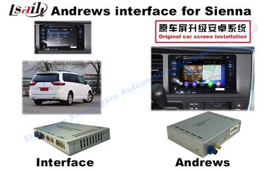 Cina Sienna Android Auto Antarmuka 3 - Jalan Navigasi Video Interface pabrik